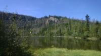 Plešné jezero.