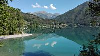 Lago di Ledro na kole i po ferratách a Riva del Garda