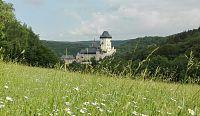 Karlštejn - výlet okolo hradu.