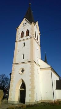 Obec Jiřice u Humpolce.