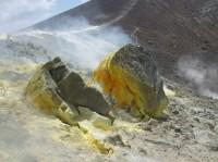 Vulcano - sopka na Liparských ostrovech.