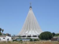 Kostel Santuario della Madonna delle Lacrime v Syrakusách.