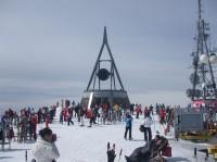 Kronplatz - krásné místo pro lyžování.