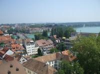 Kostnice - německé město u Bodamského jezera.