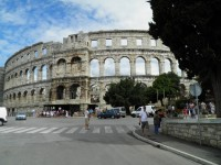 Římský amfiteátr v Pule.