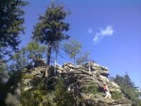 Devět skal - nejvyšší vrchol Žďárských vrchů
