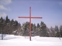 Kříž poblíž Královky