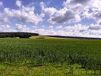 Německo - vyhlídky v údolí říčky Biela,Herkulovy sloupy