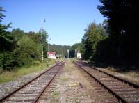 výchozí místo výletu nádraží Chřibská