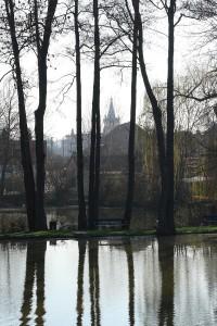 rybníky u Průhonic