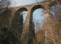 nejvyšší kamenný viadukt v Čechách