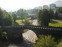 netradiční pohled na děčínské mosty