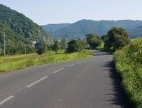 cyklostezka na silnici
