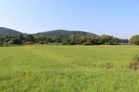 Líšná, pohled z údolí Otavy