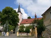 Čestice, kostel Stětí Jana Křtitele
