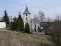 Velký Bor. kostel sv. Jana Křtitele