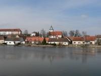Velký Bor, významné městečko středověku.