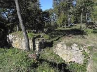 Osule, východní část hradu