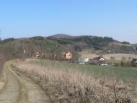Na jihu Švihovské vrchoviny.