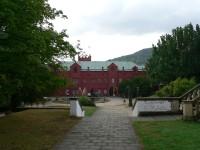 Klášterec nad Ohří, vstupní strana zámku