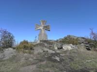 Maltezský kříž pod Štěpánkou