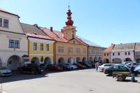 Sobotka, bývalá radnice na náměstí