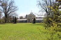 Kopidlno, palmový skleník v parku
