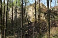 Hrad Pařez, pohled od jihu