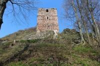 Kumburk, vyhlídková věž