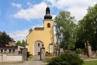 Police nad Metují, hřbitovní kostel