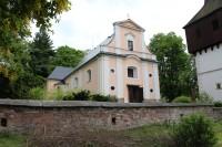 Hronov, kostel Všech svatých