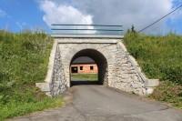 Neznášovy, železniční most