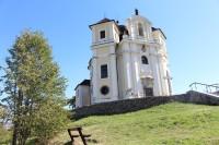 Maková hora, kostel od SZ