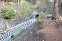 Špičák, tunel