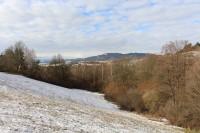 Pohled z Minovky na Svatobor