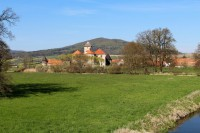 Město a hrad Švihov.