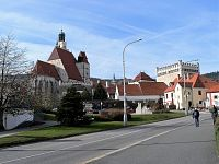 Prachatice, město pod Libínem.