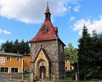 Harrachov, kaple sv. Alžběty.
