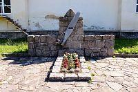 Harrachov, hrob neznámého letce.