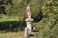 Veselí, socha sv. Jana z Nepomuku.