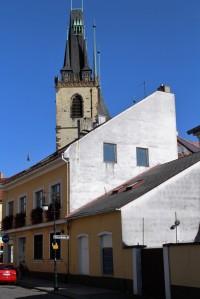 Věž kostela sv. Mikuláše