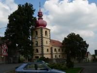 Blíževedly, kostel sv.Václava