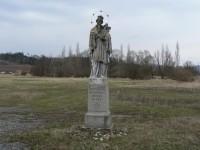 Tajanov, socha sv.J. Nepomuckého