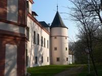Zámrsk, zámek jižní část
