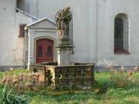 Zámrsk, socha sv. J. Nepomuckého