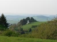 Cestou na Svatobor, pohled k JZ