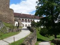 Hrad Velhartice, Huertův palác