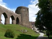 Hrad Velhartice, most a Rajský dům