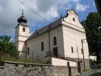 Běšiny, farní kostel