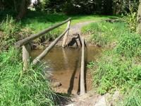 Běšiny, přechod přes Drnový potok